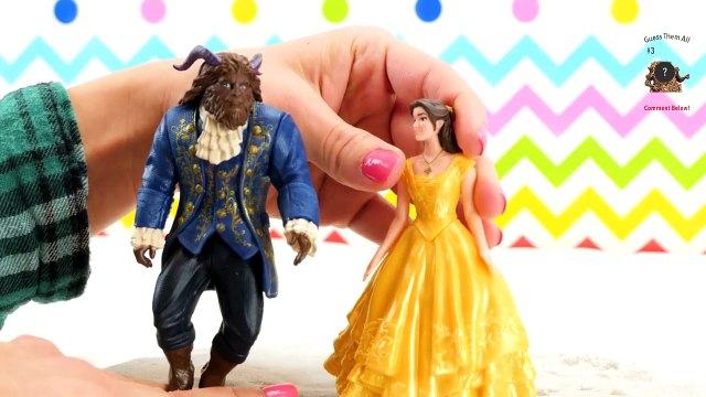 Beauty and the Beast Movie 2017 Toys Belle Misses the Beast. Prince Adam Changes into the Beast!