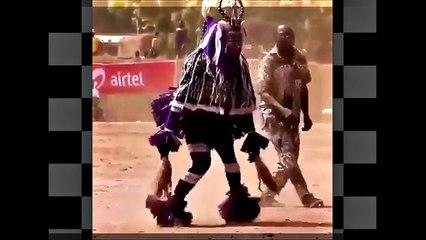 MilongAfrica. Nombre simbolico a este baile de habilidades en Africa.