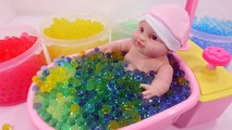 Orbeez 개구리알 아기 인형 목욕놀이 장난감 팜팜 !! Baby Doll Orbeez Bath Time Toys PomPom !!