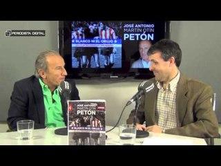 José Antonio Martín Otín, 'Petón', autor de 'Blanco ni el orujo'. 23-4-2015