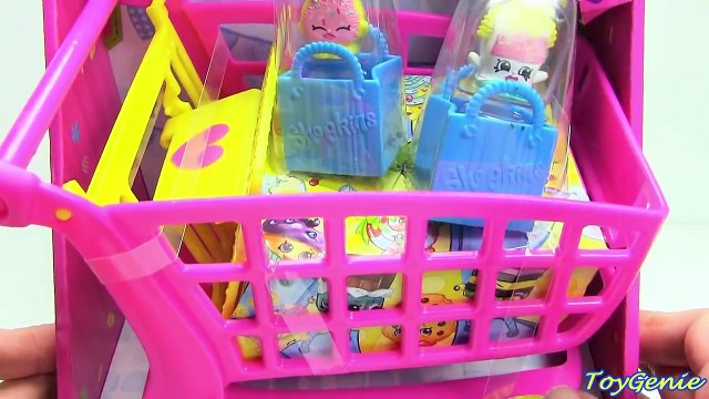 Shopkins Shoppin Cart Large Shopping Cart with 2 Exclusive Shopkins