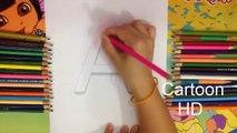 ABC Coloring - Learn Colors - Alphabet Letter - Learn English Alphabet - Cartoon HD #17 ✔