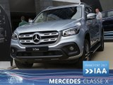 Mercedes Classe X en direct du Salon de Francfort 2017
