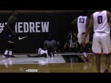 Player Gets Hung on Dunk BAD At The Drew League TWICE!
