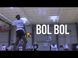 Bol Bol Could be KD 2.0! | Manute Bol's 7 Foot Son DESTROYS Top Rank Showcase Mixtape