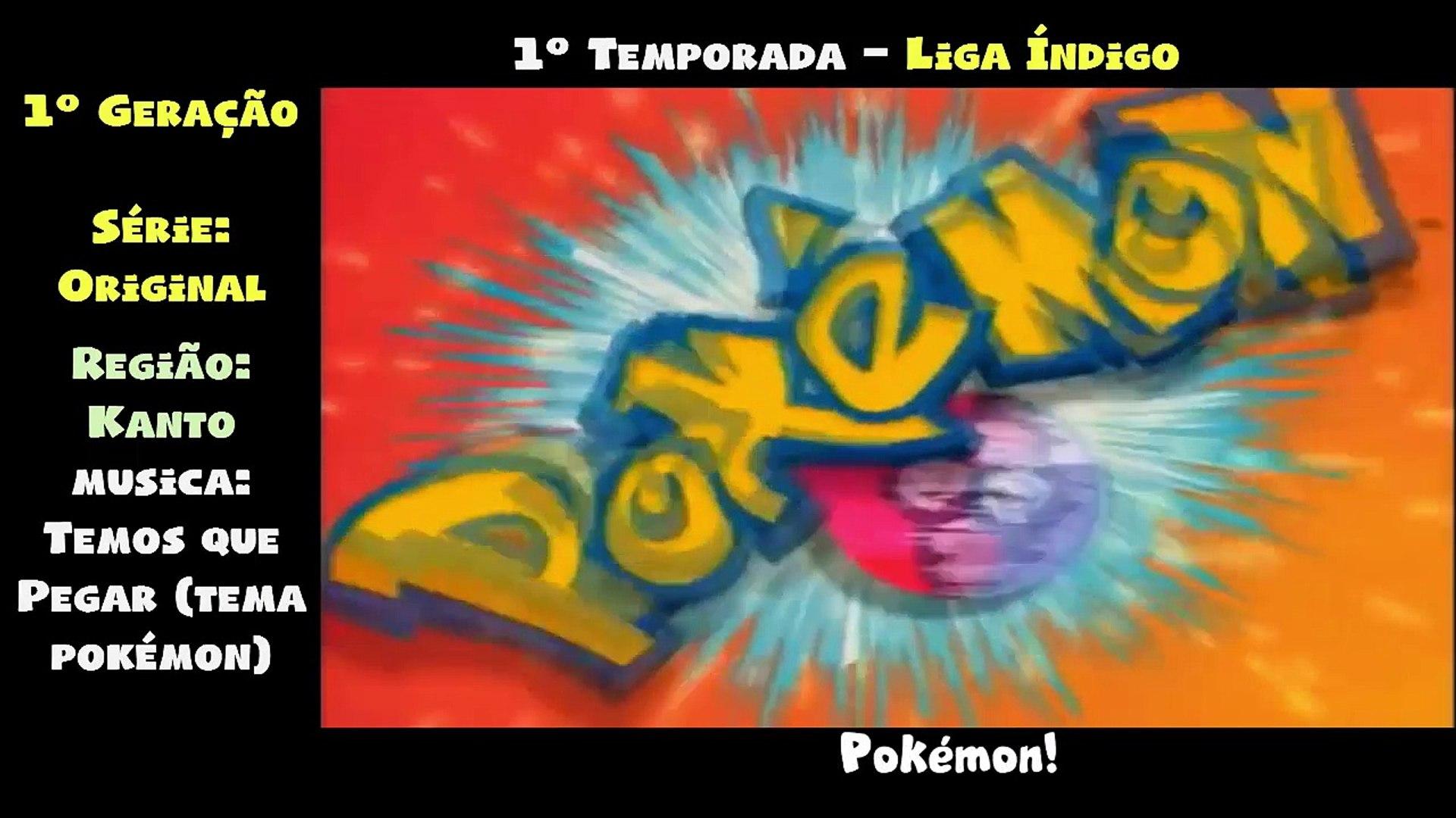 Pokémon - Todas as aberturas dubladas de 1997 a 2017 (Atualizado)