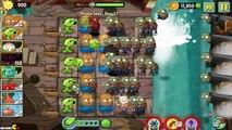 Plants Vs Zombies 2: Jurassic Marsh Primal Peashooter Challenge!