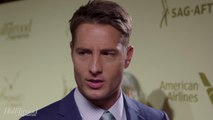 Justin Hartley Says Julia Roberts Loves 'This is Us' | Emmy Nominees Night 2017