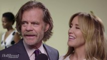 Felicity Huffman & William H. Macy Talk 'Shameless,' Snacking | Emmy Nominees Night 2017