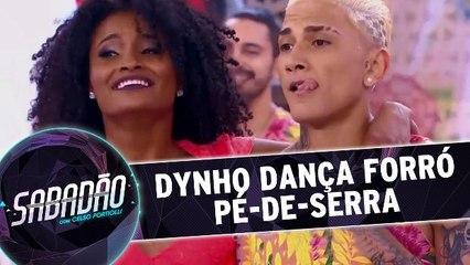 Dynho dança Forró de Pé-de-Serra