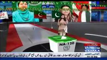 Maryam Nawaz Copying Benazir Bhutto Style and PML-N Workers Stealing PPP Slogans - Watch Samaa TV Report