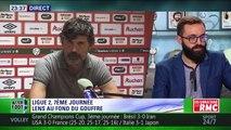 """Kevin, supporter du RC Lens : """"Voir mon club comme ça, ça me fait mal au cœur"""""""