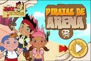 Jake y los Piratas de Nunca Jamás - Juego: piratas de arena - Jake Izzy Gaby