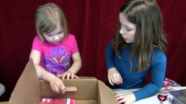 Grab box! Mystery Box opened! | Life With Jillian & Addie | Babyteeth4