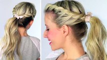 Twisted Ponytail | Easy Hairstyles | Hairstyles for Girls | Chikas Chic