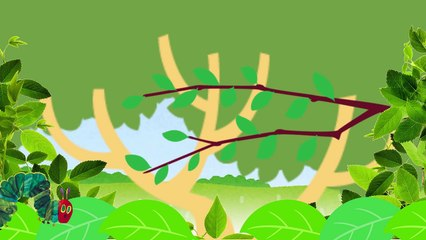 The Very Hungry Caterpillar【Wednesday】Animation of a Picture Book はらぺこあおむし