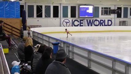 2016 WinterSun Ice Skating Competition - Preliminary Ladies