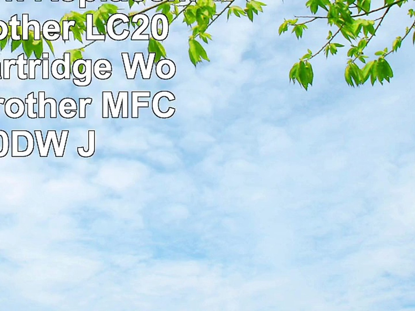 Ouguan 10pk Replacement for Brother LC203XL Ink Cartridge Works with Brother MFC J5520DW
