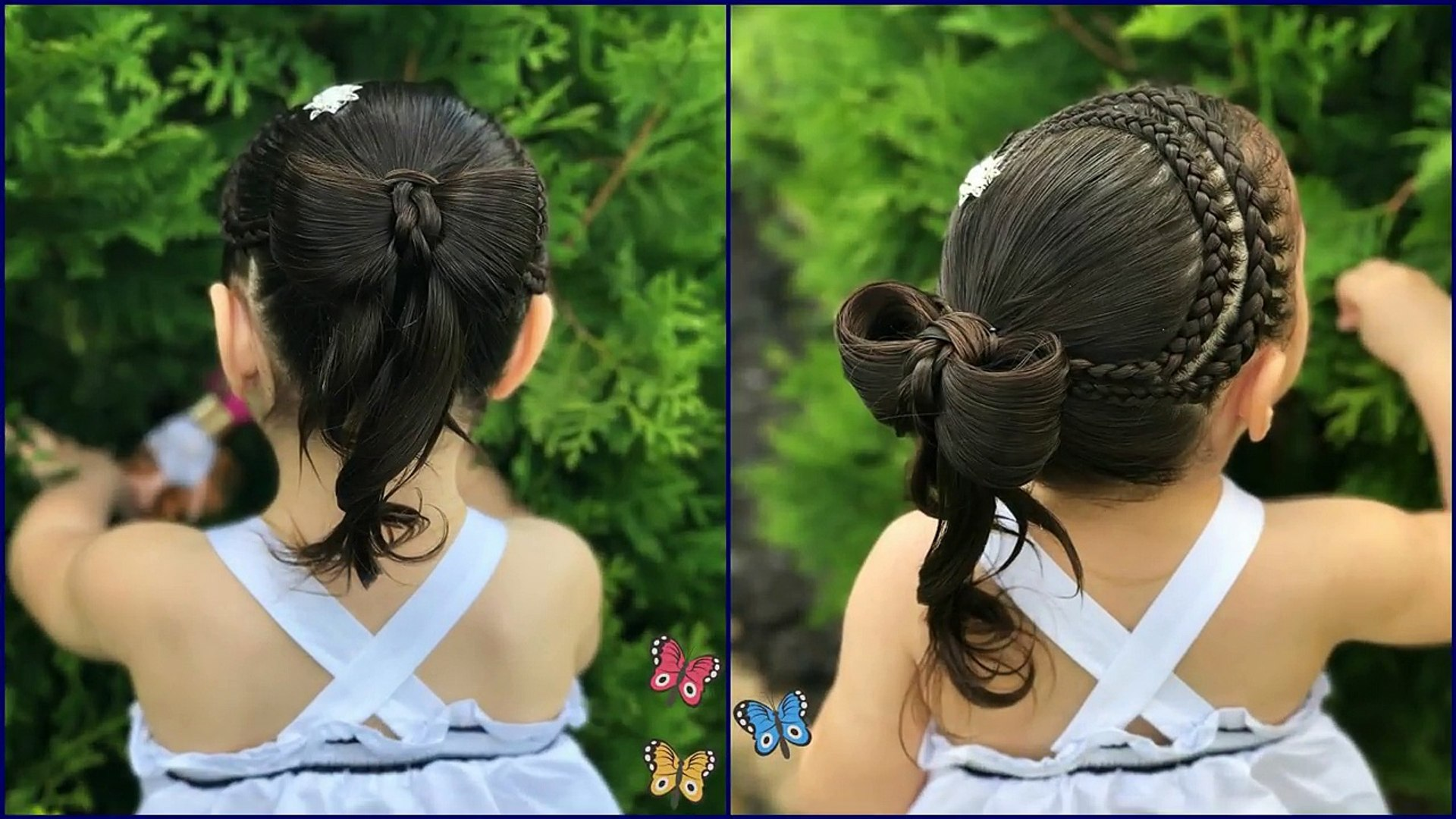 Súper fácil peinados para niña Colección de tendencias de color de pelo - Peinados Para Graduacion De Niñas 12 Años Faciles - Hay Niños