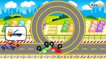Мультфильмы про Машинки Трактор Павлик Монстр Трак и Эвакуатор Развивающие мультики для детей