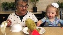 Pour enfants la magie Magie enfants pour Nastya Défi fruits magie magie magie transformation ka