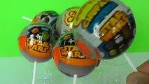 Gros des voitures dinosaure héros domestiques Bob léponge étoile histoire jouet guerres 4 œufs surprennent Chupa Chups