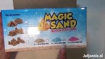 La magie Magie rencontré le sable 2 moules de sable dans le sable de jeu