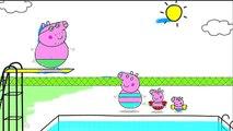 Actividades Alejandro arte bebé libro color para colorear divertido Niños marcadores páginas cerdo con Peppa