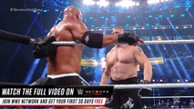 GOLDBERG VS BROCK LESNAR - SURVIVOR SERIES (2016) - WWE Wrestling - Sports MMA Mixed Martial Arts Entertainment