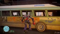 GTA IV Transformers Optimus Prime Mod vs Green Hulk Mod! - Can Optimus Defeat Incredible H