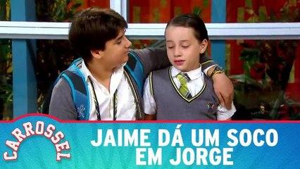 Jaime dá um soco em Jorge