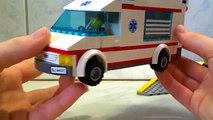 Ville qui passe est est est un camion Lego ambulance lego ambulance accident lego krankenwagen lego amb