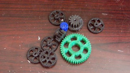 Can you ually use 3D printed gears?