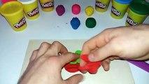 Et pomme couleurs Canard pour enfants Apprendre jouer jouets avec doh