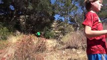 4K Scary Fun In Blue Tail Rattle Snake Cave: Dead Air. Travel Herping Nature Fishing.