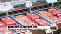 Chuseok gift sets introduced ahead of longest-ever Chuseok holiday
