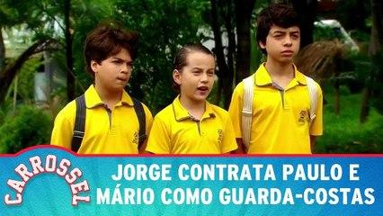 Jorge contrata Paulo e Mário como guarda-costas