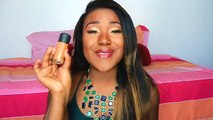 MAC FOUNDATION DUPE?! FLAWLESS SKIN ROUTINE I Black Opal Foundation + Powder