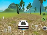 Flying Car Driving Simulator Free - Extreme Muscle Car: Airplane Flight Pilot iOS Gameplay