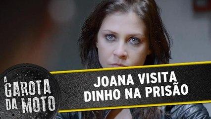 Joana visita Dinho na prisão