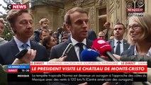 Emmanuel Macron confie une mission de sauvegarde du patrimoine à Stéphane Bern (vidéo)