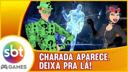 Batman: Arkham Knight - Charada, Mulher-Gato e Sherlock Batman.