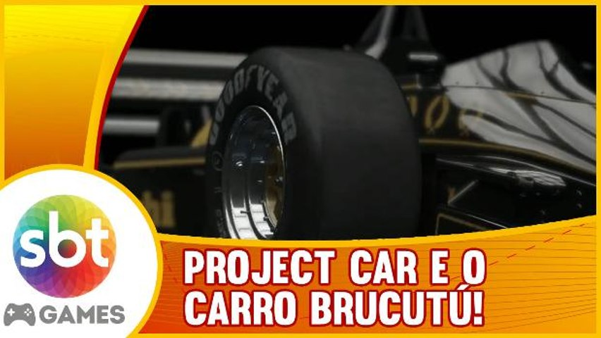 Project Cars - Fórmula LOTUS 98T Turbo. O carro BRUCUTÚ!