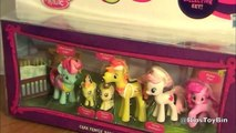 My Little Pony CAKE FAMILY Babysitting Fun Mini Figures Collection! Review by Bins Toy