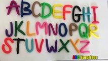 Enfants les couleurs pour enfants Jardin denfants Apprendre jouer chansons jouets Doh alphabet surprise |