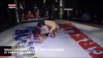 MMA : un combattant pète les plombs et frappe l'arbitre (vidéo)