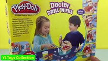 New PLAY DOH Doctor Drill N Fill Playset | Pretend Dentist Play Dough Toys! lots of Marshm