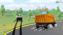 Super Tractor - Un accidente - Carritos para niños - Pequeño Carros Para Niños