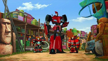 Transformers: Robots in Disguise: Combiner Force: Episode 14: Railroad Rage (HD)