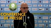 Conférence de presse Paris FC - Tours FC (2-0) : Fabien MERCADAL (PFC) - Gilbert  ZOONEKYND (TOURS) - 2017/2018